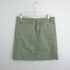 G1 Spring Goods//Army Green Mini Skirt
